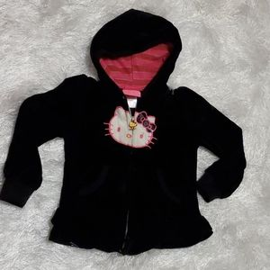 Hello Kitty 😺 Kids Velour Jacket - $6 - 4T.